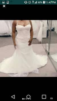 Used Beautiful Lace Corset Wedding Gown For Sale In Phoenix Letgo