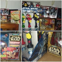 STAR WARS '90S COLLECTABLES LOT New Oxford, 17350