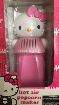 white and pink Hello Kitty plastic toy Meriden, 06451