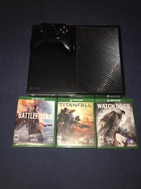 Xbox One with 3 Games  Chicago, 60629