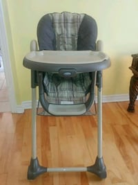 baby's gray and white Graco high chair Montréal, H8Y