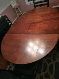 """Dining room table 66"""" x 48"""" x 30"""" with 18""""  leaf installed Chesapeake, 23320"""