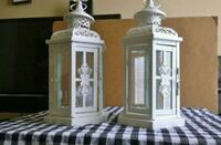 White Decorative Lantern  San Antonio, 78240