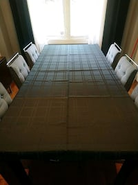 NEW, Black table cloth. 7x5 feet Pickering, L1W 2K2