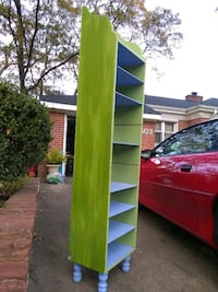 Tall Bookshelf with Removable Shelves