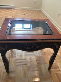 Oriental coffee table and end table
