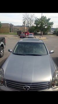 Infinity G35x AWD 2004 for parts or buy the whole car plz read  Waterloo, N2L 3M6