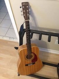 Norman Acoustic Guitar (Encore B20 with Fishman Pickup) and extras Bolton
