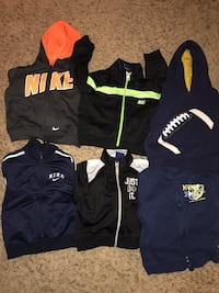 Kids 6 pieces Nike's,Circo,Gymboree hoodies 12M-24M Manassas, 20109