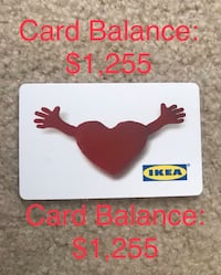 IKEA gift card Bowie, 20721