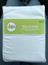 Two Pack Brand New Crib Sheets - White Taneytown, 21787