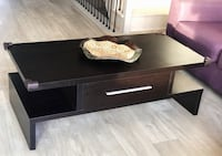 Dark brown Coffee table with drawer Markham, L3T 0G1