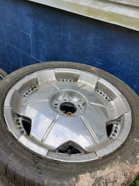 """18"""" rims and tires  came off ford ranger"""