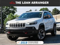 2019 Jeep Cherokee with 11,849 KM And 100% Approved Financing Toronto