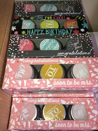 Special occasion 3 set candles only $5!! Soon to be mrs, happy birthday or congratulations for grads !!