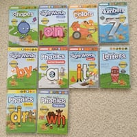 DVDs preschool pre company 10 dvds series collections shape color number phonics Ashburn, 20147