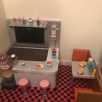 Fully Furnished Doll House For American Girl 58 mi