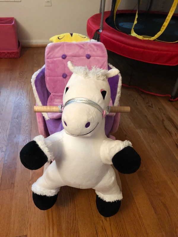Princess carriage rocker (Rockaby)