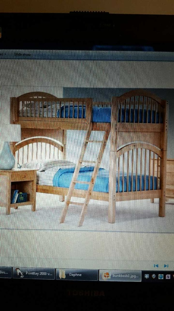 Used Moving Sale Tradewins Bunk Beds Furniture Set For Sale In
