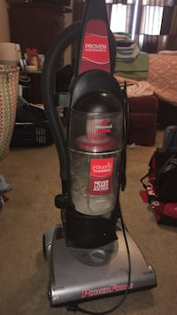 black and gray bissell upright vacuum cleaner London