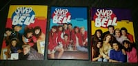 three Saved By The Bell DVD series Barrie