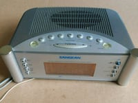 SANGEAN RCR-2 AM/FM Atomic Clock Radio Hyattsville, 20783
