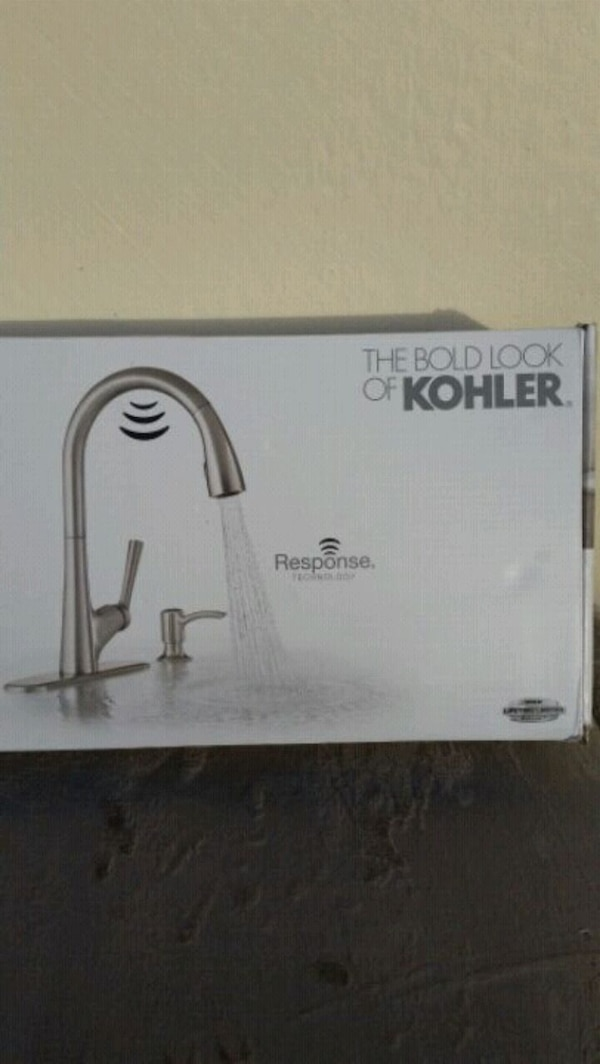 Used Kohler Malleco Touchless Pull Down Kitchen Faucet For