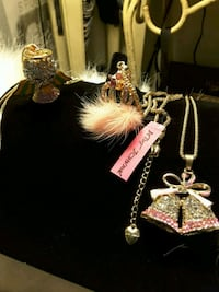 Necklaces: bells, crown & Angel >Betsey J Ladson, 29456