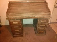 Grand rapids desk co. Rolltop desk 1890