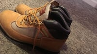 pair of brown Timberland pro work boots Conway, 29527