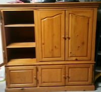 brown wooden cabinet with drawer Indio, 92203