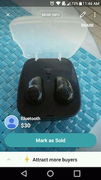 black Logitech wireless computer mouse Deerfield Beach, 33441