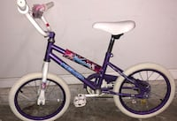 Sparkles bike for girls ( 5-8 years old) w training wheels Springfield, 22153