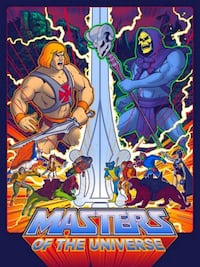LIMITED Timothy Anderson MASTERS OF THE UNIVERSE