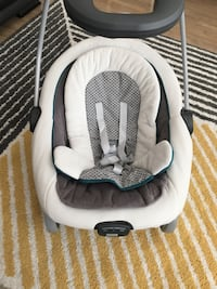 baby's white and gray bouncer Fairfax, 22030