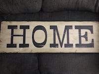 Wooden HOME sign Mesa, 85205