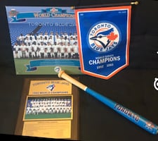 Toronto blue jay collectables