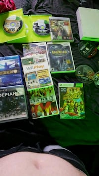 assorted Xbox 360 games Defiance, 43512