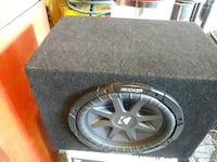 black Kicker subwoofer with enclosure Bakersfield, 93306