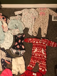 3-6 month baby girl clothes  West Valley City, 84120