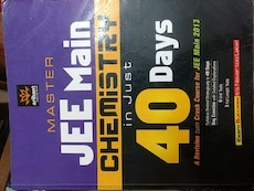 Master Jee Main Chemistry in just 40 days box