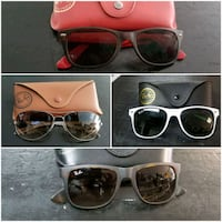 AUTHENTIC RAY BAN SUNGLASSES -  $115 EACH or BEST Toronto, M5V 3W7