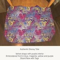 Disney Embroidered Tote Bag Mississauga, L5B 3Z1