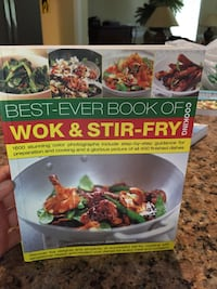 Wok and Stir Fry cook book Wilmington, 28409