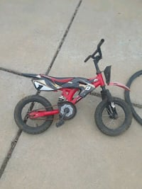 toddler's red and black bicycle Cabot, 72023