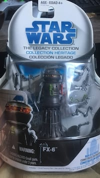 Star wars action figure sealed package not open there are more action figures but there opend in very good condition and have all parts more figures but not in package I'll make a deal and sell 10 for 100$ Red Deer, T4N 4L8