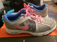pair of gray-and-blue Nike running shoes San Antonio, 78228