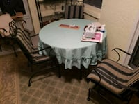 Wrought iron patio set  Ocala, 34476