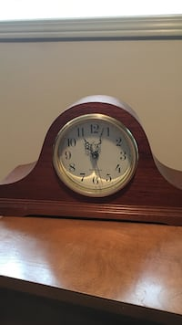 brown wooden mantle clock Brampton, L6W 2T7