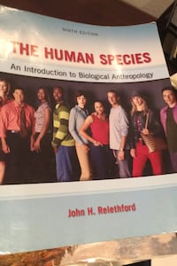 The Human Species- introduction to Biological Anthropology Palmdale, 93550